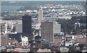 Down Town Baton Rouge View